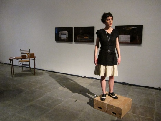 Andrea Geyer, Comrades of Time, Whitney Biennial 2012. Image courtesy of Bryony McIntyre.