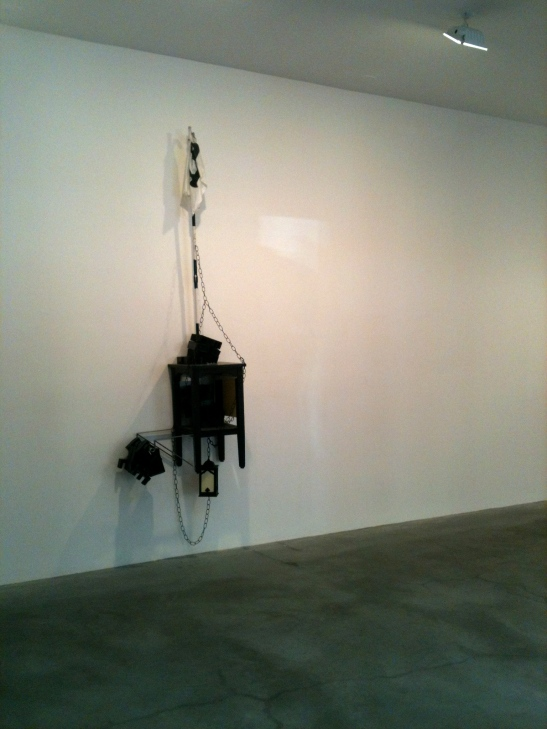 Nayland Blake at Matthew Marks Gallery, Feb. 2 - Apr. 20, 2013. Image courtesy of Kalin Allen