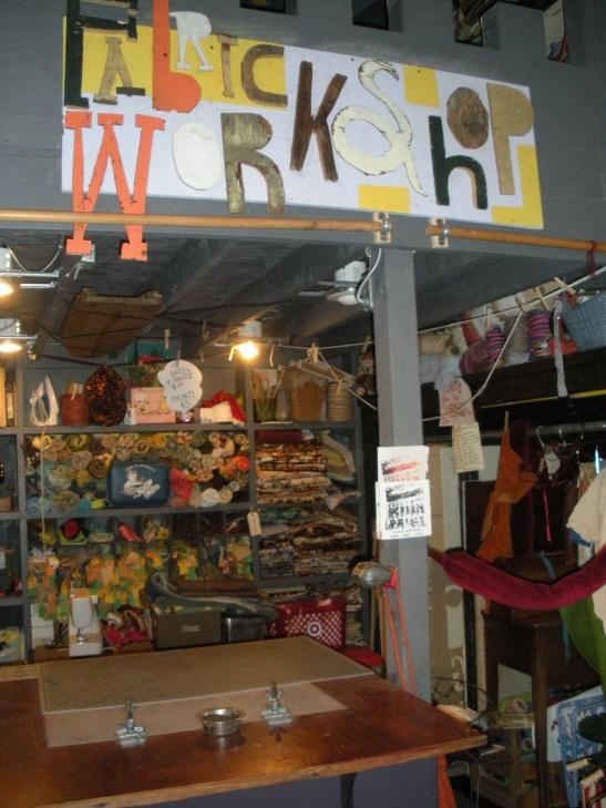Go Elsewhere Museum, Greensboro, NC. Image courtesy of Melissa Messina
