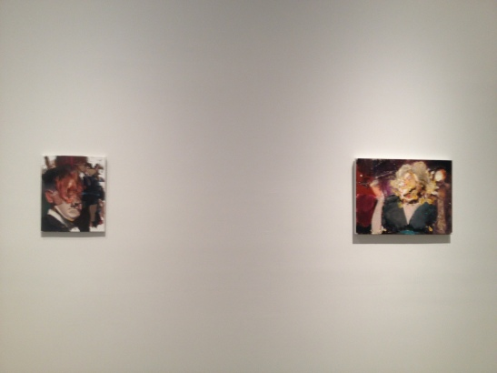 Adrian Ghenie, New Paintings, 2013, installation view, PACE, NY