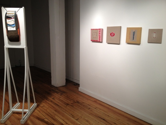 Spring Group Show Featuring Angela Burson at Leedy-Voulkos Art Center, Kansas City, MO. Installation view. Image courtesy of Erin Dziedzic