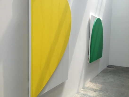 Ellsworth Kelly at Ninety, installation view at Matthew Marks, NY. Image courtesy of Erin Dziedzic