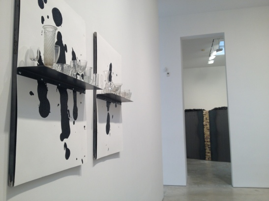 Jannis Kounellis, installation view at Cheim & Read, NY. Image courtesy of Erin Dziedzic