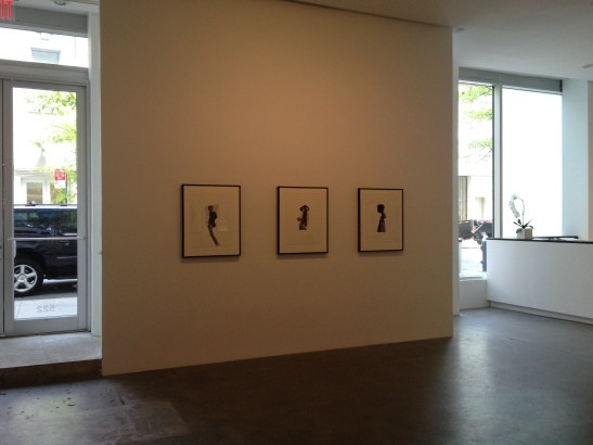 Marcia Kure, installation view at Susan Inglett Gallery, NYC. Image courtesy of Erin Dziedzic