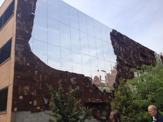El Anatsui, High Line, NY