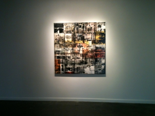 Canan Tolon at Von Lintel Gallery. Image courtesy of Kalin Allen