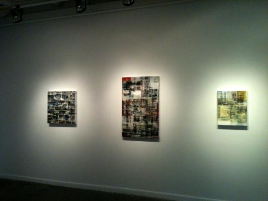 Canan Tolon at Von Lintel Gallery. Image courtesy of Kalin Allen