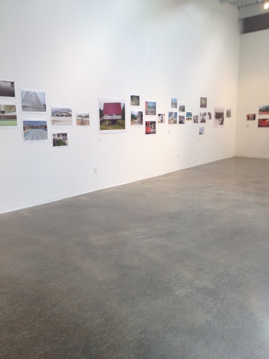 Credit: Jon Pack & Gary Hustwit: The Olympic City, 2013, Atlanta Contemporary Art Center, Atlanta, GA, installation view. Image courtesy of Shantay Robinson