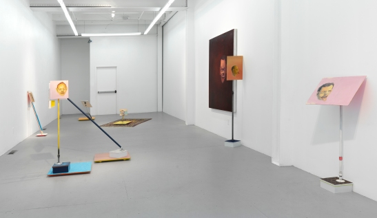 "Steve Locke, Installation view of ""you don't deserve me"" at SAMSON, Boston. Image by Stewart Clements. Courtesy of the artist and SAMSON, Boston"
