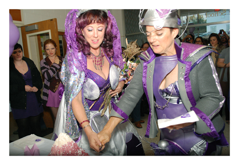 Annie Sprinkle and Beth Stephens, Purple Wedding
