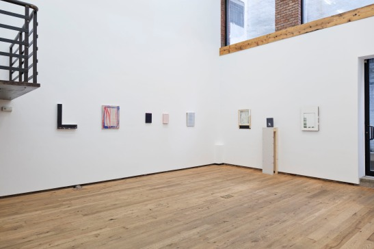 Jane Fox Hipple, The Way of Things, installation view at DODGEGallery, New York, 2012.