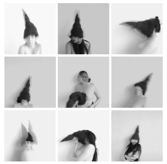 Joy Episalla, motion 5,9,21,1,2,8,17,18,6, 2012, archival giclée print, 8 x 8 inches each. Image courtesy of the artist.