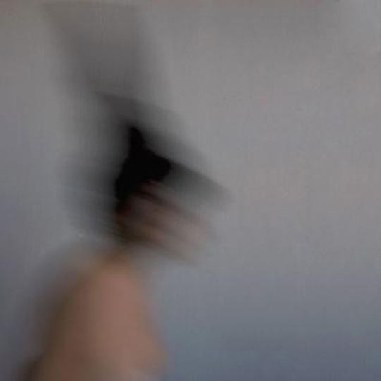 Joy Episalla, blur 2, 2012, archival giclée print, 22 x 22 x 1/2 inches. Image courtesy of the artist.