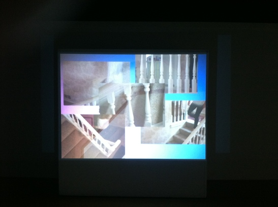 Victoria Fu, Lorem ipsum I and II, 2013, 16mm film transferred to digital video projection and photographs. Image courtesy of the artist.
