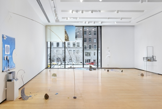Sarah Sze, Random Walk Drawing (installation view), 2011, Mixed media, Courtesy of the artist and Tanya Bonakdar Gallery, New York. Photo courtesy of Tom Powel.