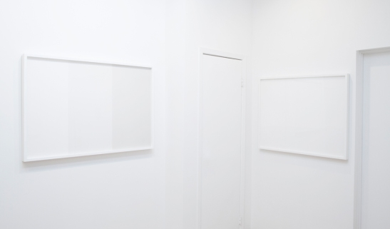 Abdolreza Aminlari, Walls and Landscapes, Installation view, Jackie Klempay Gallery, Brooklyn, NY, 2013.